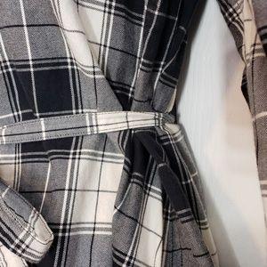 Uniqlo Tops - Uniqlo Long Button Down Flannel Shirt S